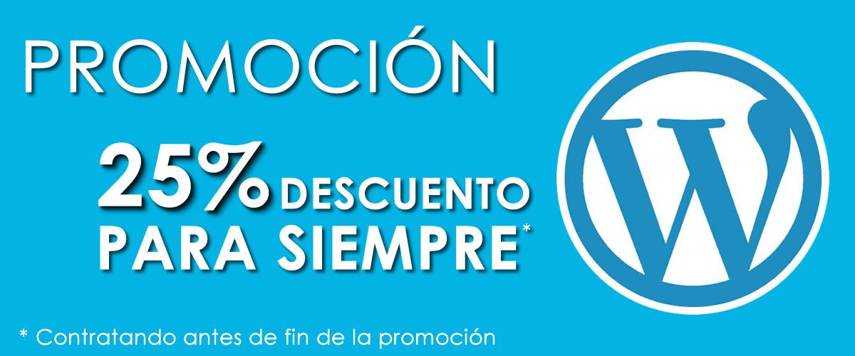 Promoción especial de Mantenimiento WordPress 2017